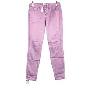 Madewell Womens Skinny Ankle Color Pop Jeans Pants